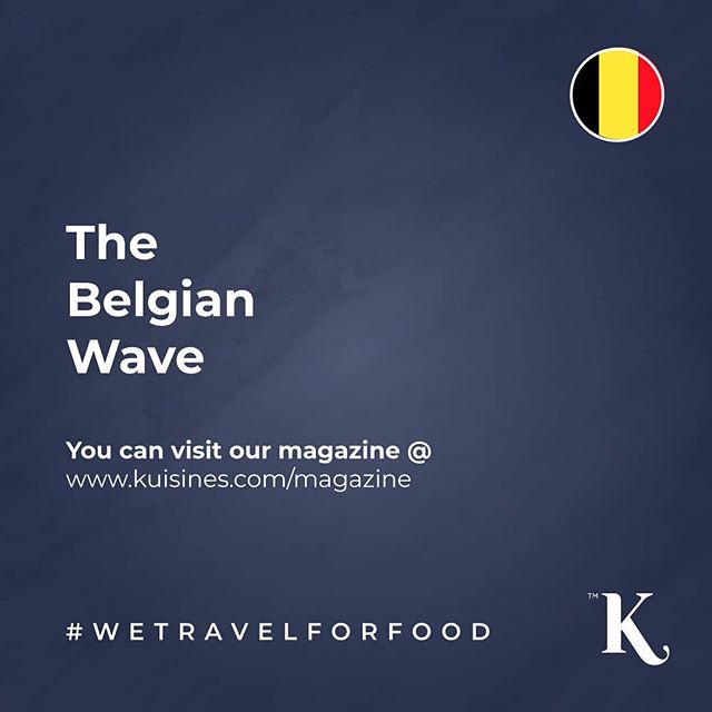 The Belgian Wave By our talented contributor @saudifooodie 🍴You can access @kuisines all issues instantly via a web browser or smart device 📲💻🖥 www.kuisines.com/magazine www.kuisines.com/itunes  www.kuisines.com/googleplay