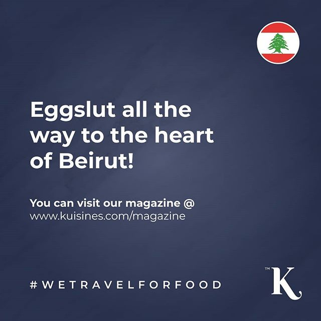 Eggslut all the way to the heart of Beirut! By our talented contributor @maxthegambler 🍴You can access @kuisines all issues instantly via a web browser or smart device 📲💻🖥 www.kuisines.com/magazine www.kuisines.com/itunes  www.kuisines.com/googleplay