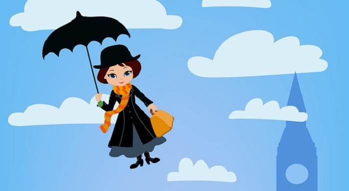 Mary Poppins Image: Shutterstock
