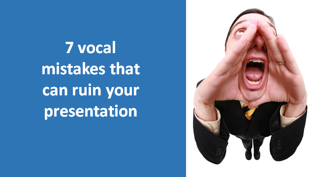 Vocal mistakes