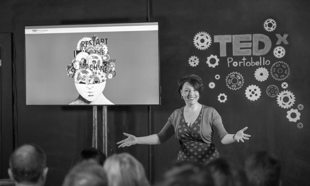 Mel at TEDx Portobello
