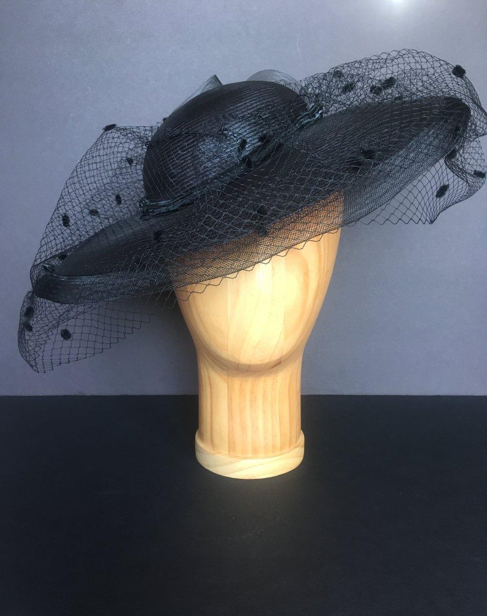 black hat with veil bbb4222ecb2