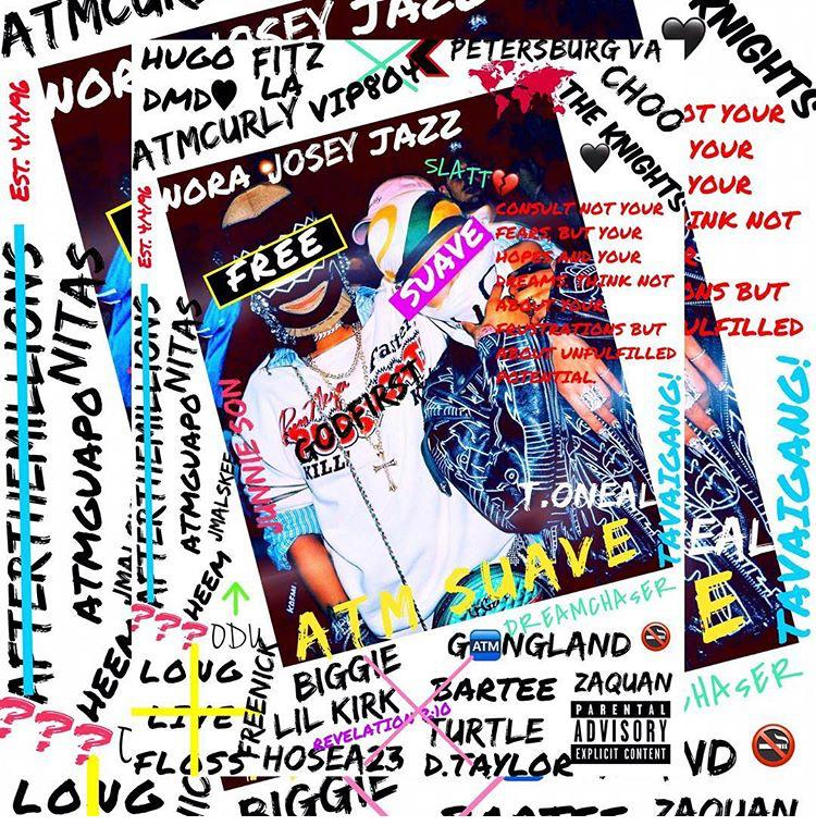 """Had the opportunity to chop it up w/ ATM Suave to discuss the origins of the ATM movement. Also, tapped into his beginning stages of rapping, and we discuss his upcoming project """"Free Suave."""""""