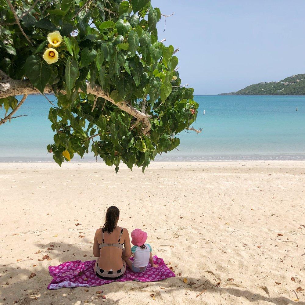 Magens Bay, St. Thomas, US Virgin Islands.
