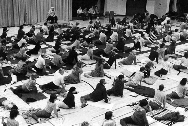 The Feldenkrais Method develops new movement patterns by expanding participants' perceptions and awareness of habits and tensions. -
