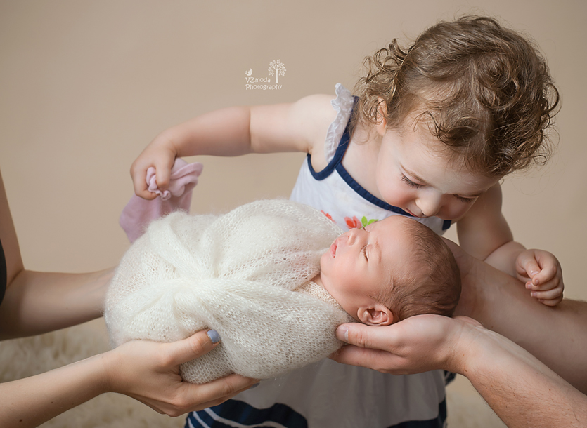 First kiss from sister