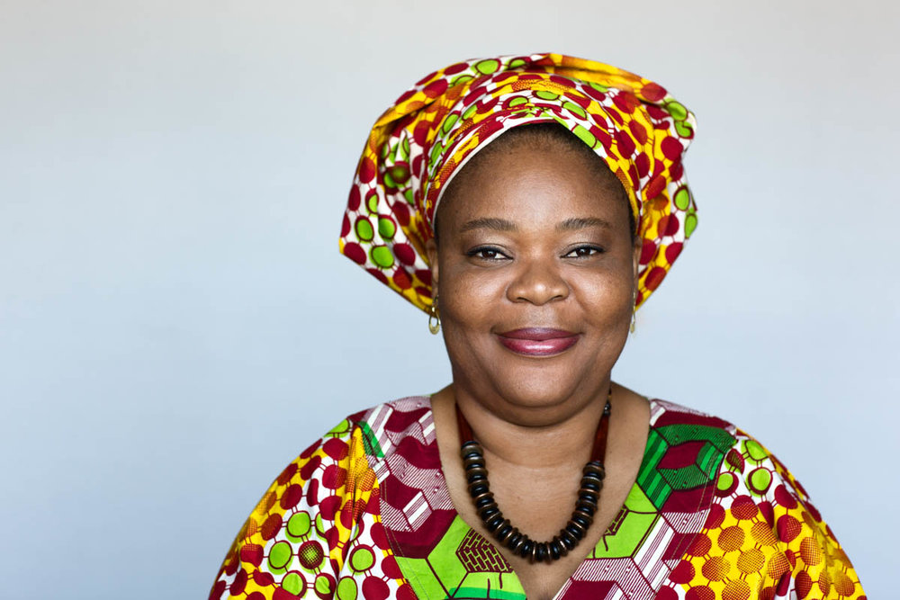 Leymah Gbowee, Activist and winner of the 2011 Nobel Peace Prize
