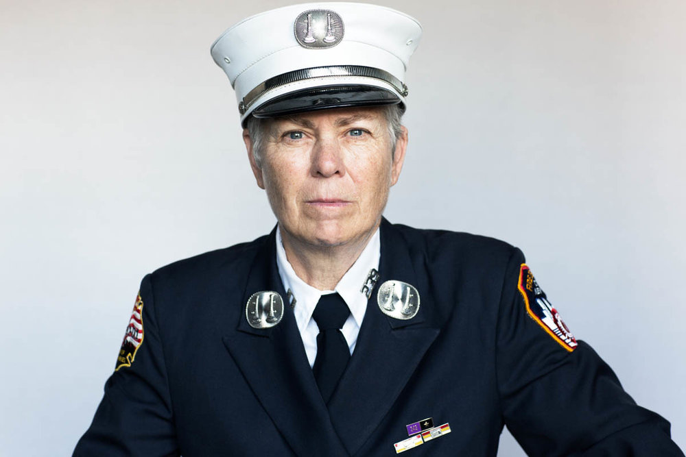 Brenda Berkman, first NYC female firefighter