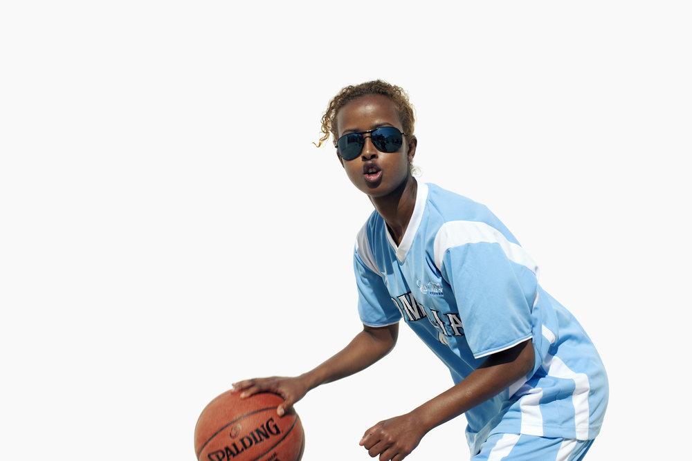 Mariam Hussein, Somalia Basketball, QMA Hey'Ya Arab Women in Sport