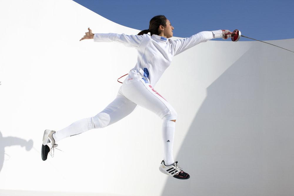 Sarra Besbes, Tunisia Fencing, QMA Hey'Ya Arab Women in Sport