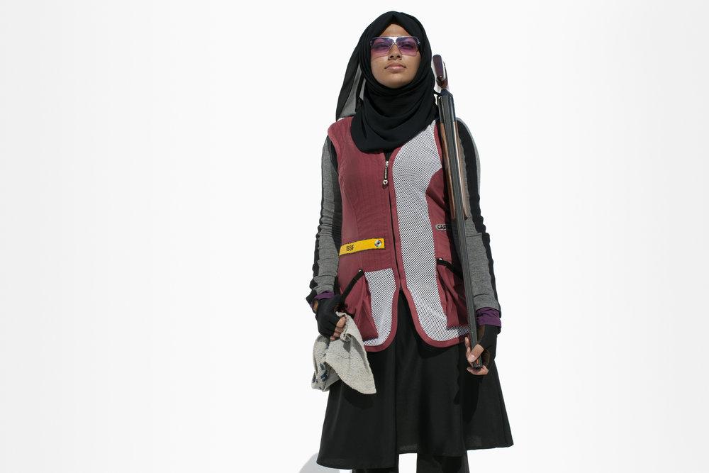 Reem Al Sharshani, Qatar Shooting, QMA HeyYa Arab Women in Sport