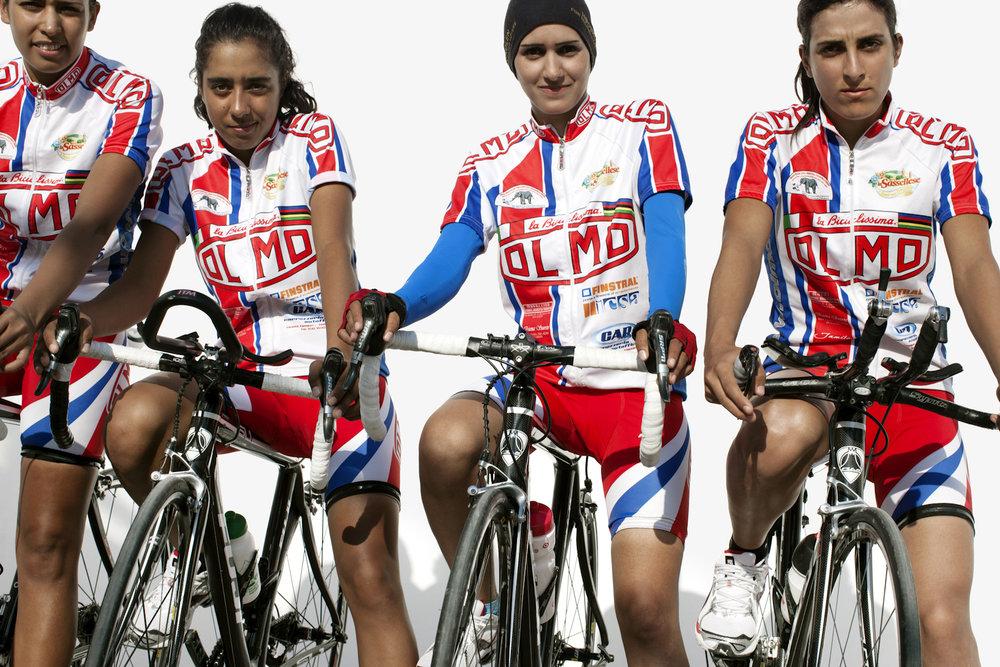 Jordan Cycling Team, QMA HeyYa Arab Women in Sport