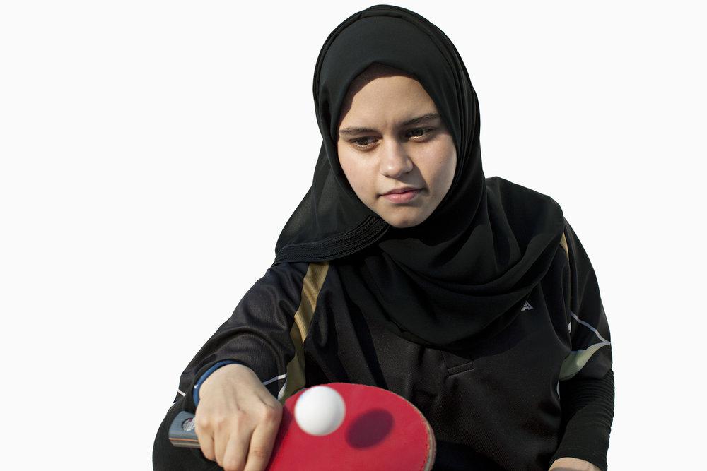 Aia Mohamed, Qatar Table Tennis, QMA HeyYa Arab Women in Sport