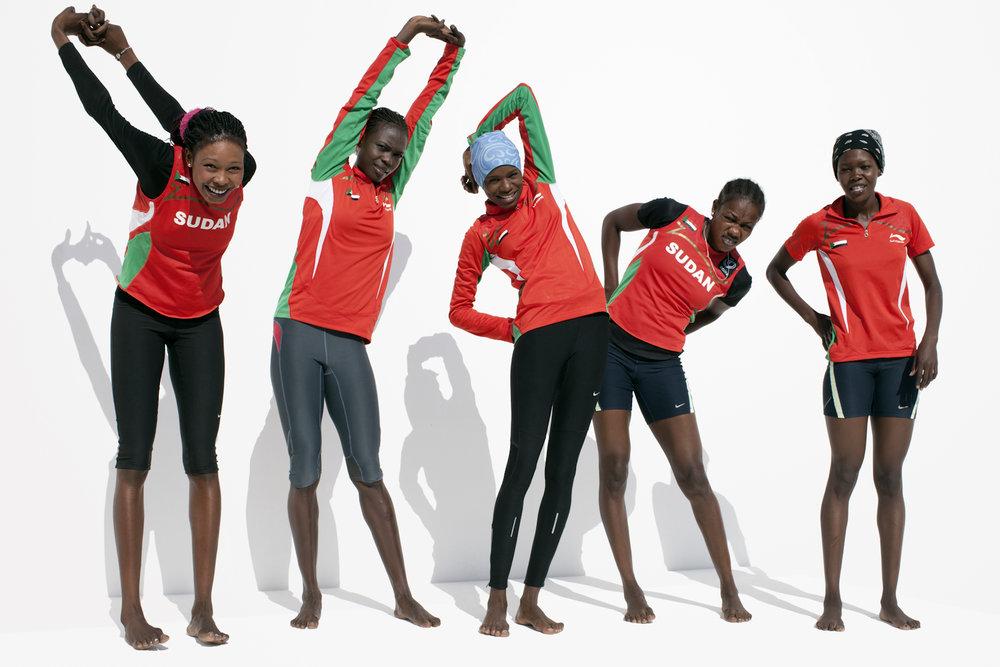 Sudan Running Team, QMA HeyYa Arab Women in Sport