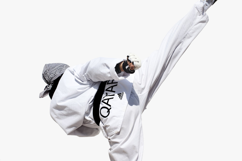 Kaltham Al Mutawah, Qatar Taekwondo, QMA HeyYa Arab Women in Sport