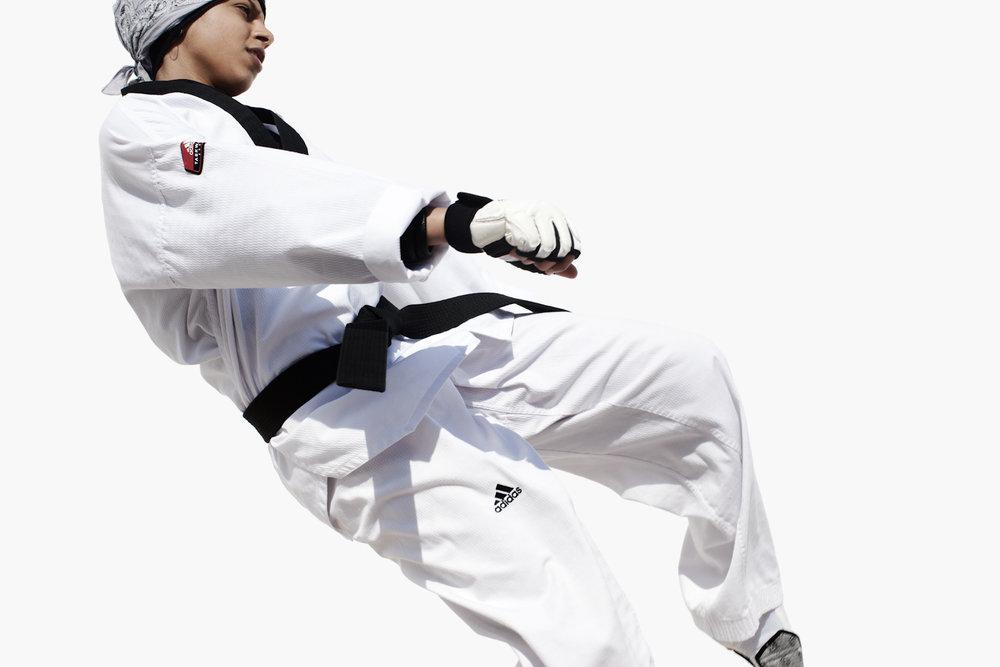 Kaltham Al Mutawah, Qatar Taekwondo, QMA Hey'Ya Arab Women in Sport