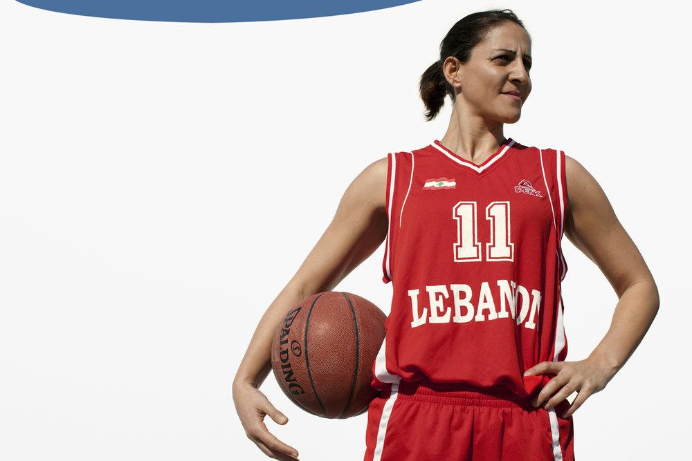 Nisrine Dandan, Basketball Lebanon, QMA HeyYa Arab Women in Sport