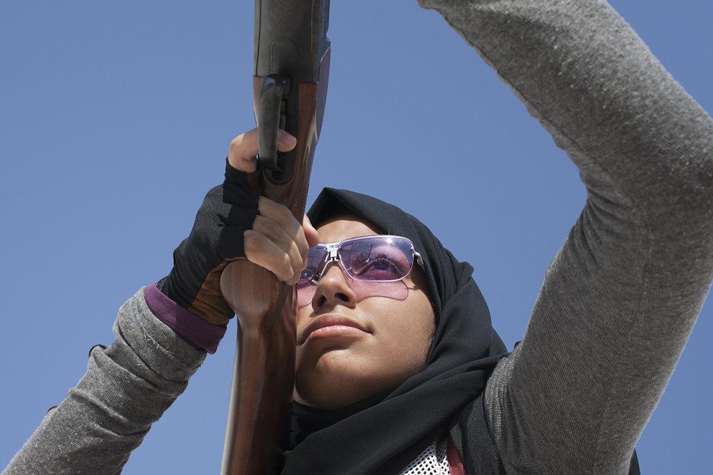 Reem Al Sharshani, Qatar Shooting, QMA Hey'Ya Arab Women in Sport