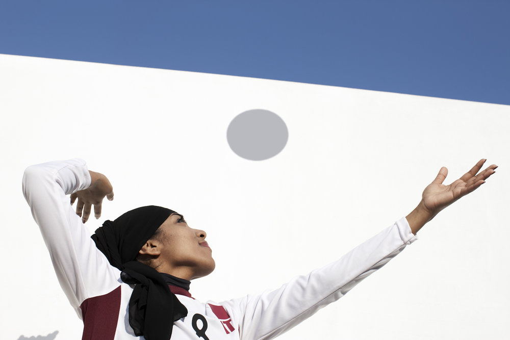 Jawaher Taher, Vollyball Qatar, QMA Hey'Ya Arab Women in Sport
