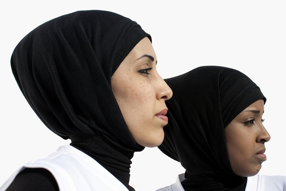 Amal Mohammad Awad, Amal Mohammad Saleh, Basketball Qatar, QMA Hey'Ya Arab Women in Sport