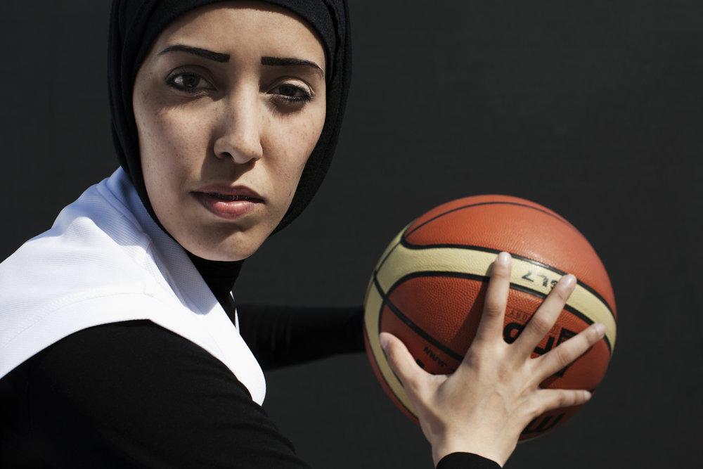 Amal Mohammad Awad, Basketball Qatar, QMA HeyYa Arab Women in Sport