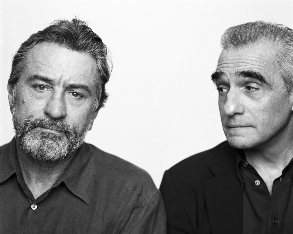 Robert De Niro and Martin Scorsese, New York, NY, 2002