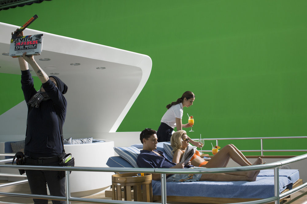 "Leonardo DiCaprio and Margot Robbie, ""The Wolf of Wall Street"", Brooklyn, NY, 2012"