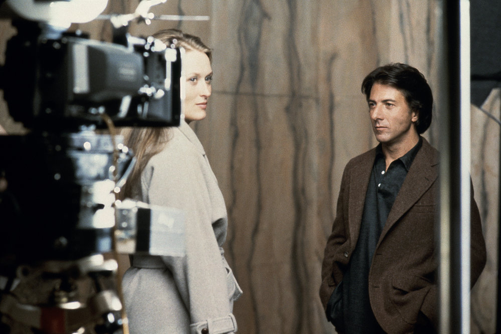 "Meryl Streep and Dustin Hoffman, ""Kramer vs. Kramer"", New York, NY, 1979"
