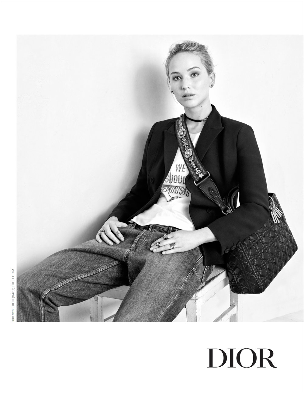 Dior Fall 2017, Jennifer Lawrence