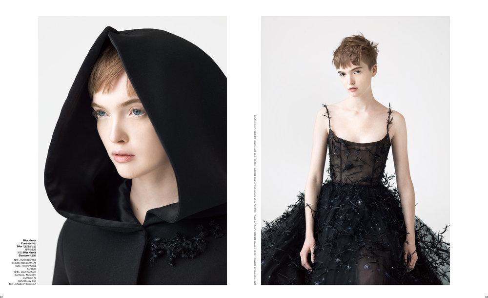 T Magazine China, Dior Couture, Ruth May