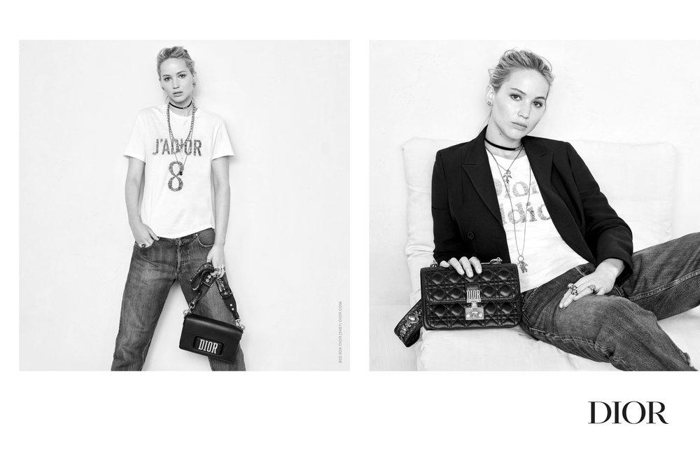 Dior campaign Fall 2017, Jennifer Lawrence