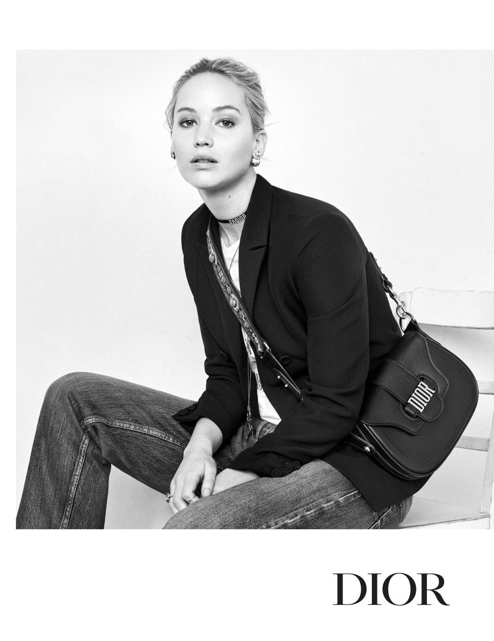 Jennifer Lawrence Dior campaign Fall 2017