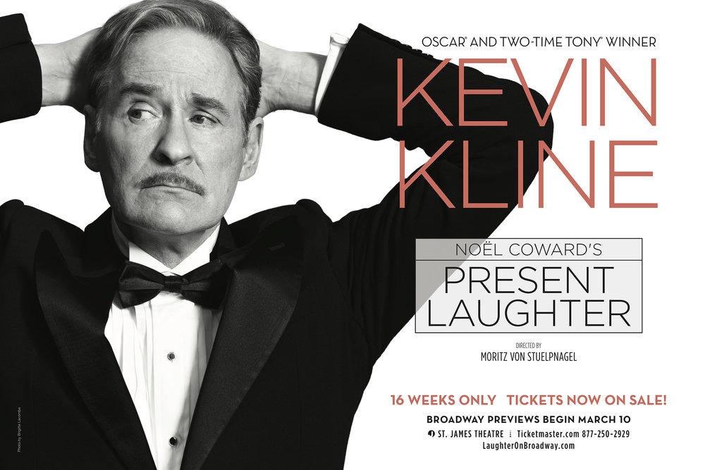 """Kevin Kline. """"Present Laughter"""""""