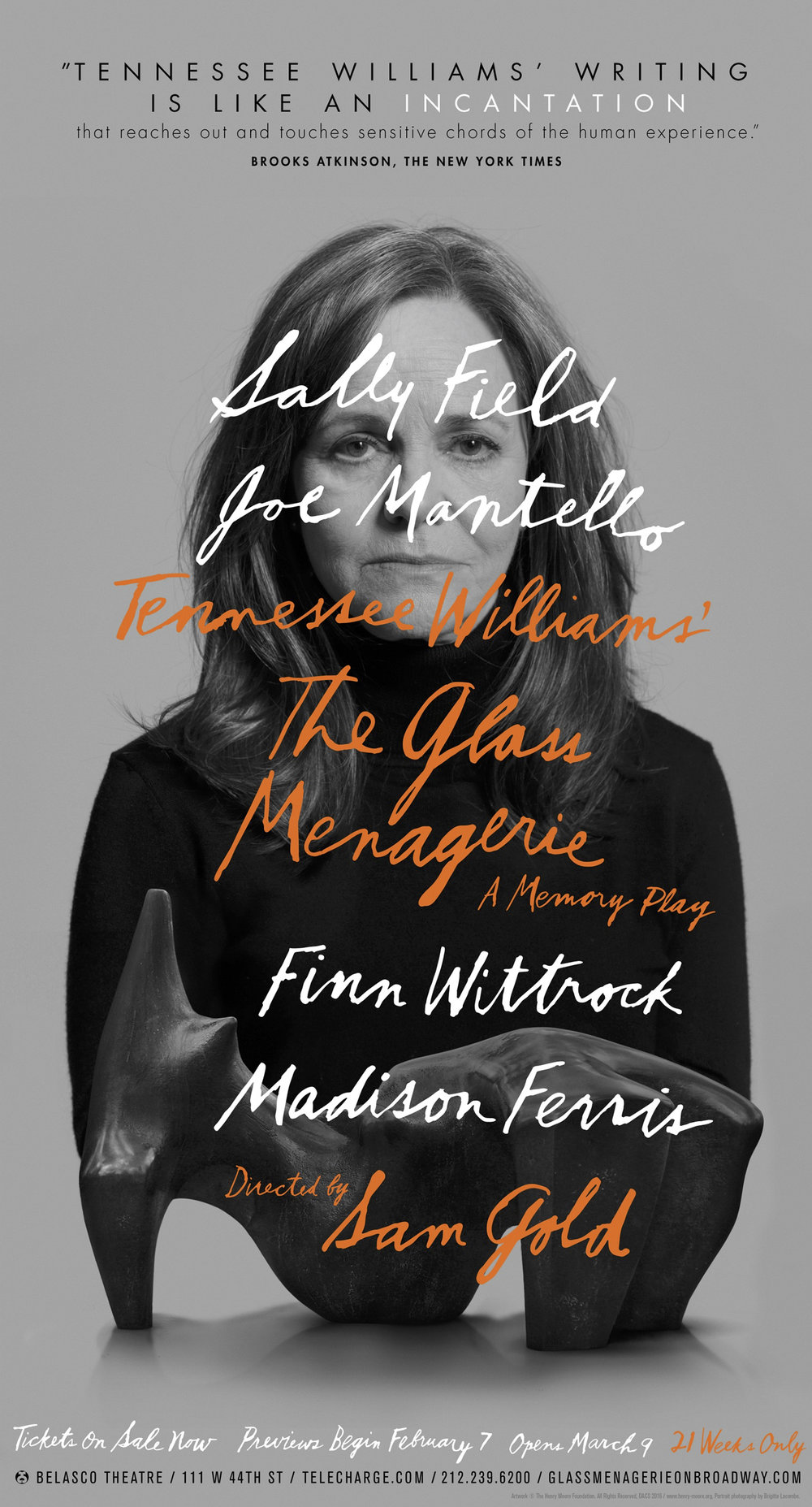 The Glass Menagerie, Sally Field