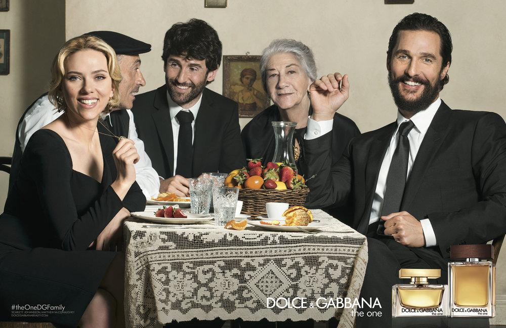 Dolce & Gabbana, Scarlett Johansson & Matthew McConaughey