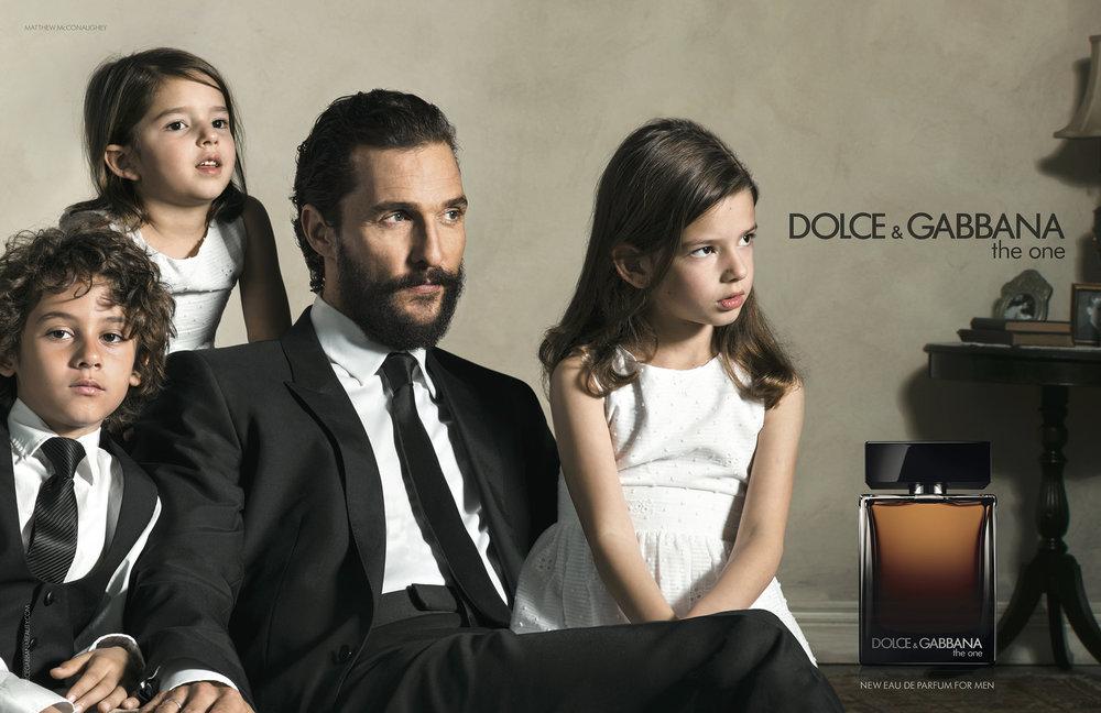 Dolce & Gabbana, Matthew McConaughey