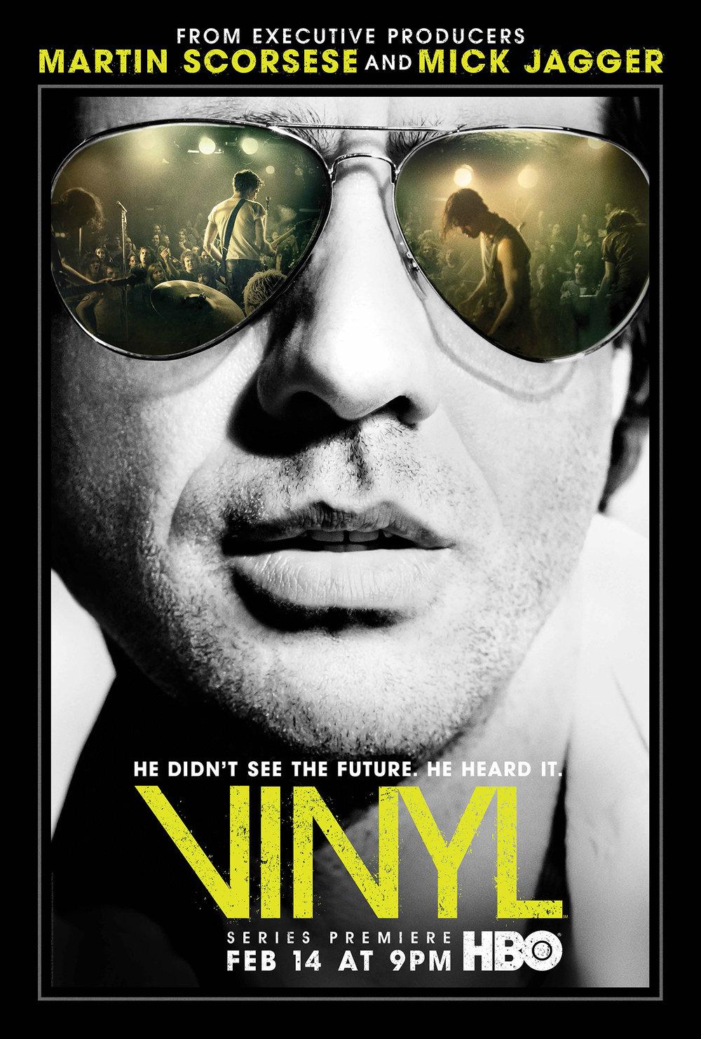 """Vinyl"" poster"