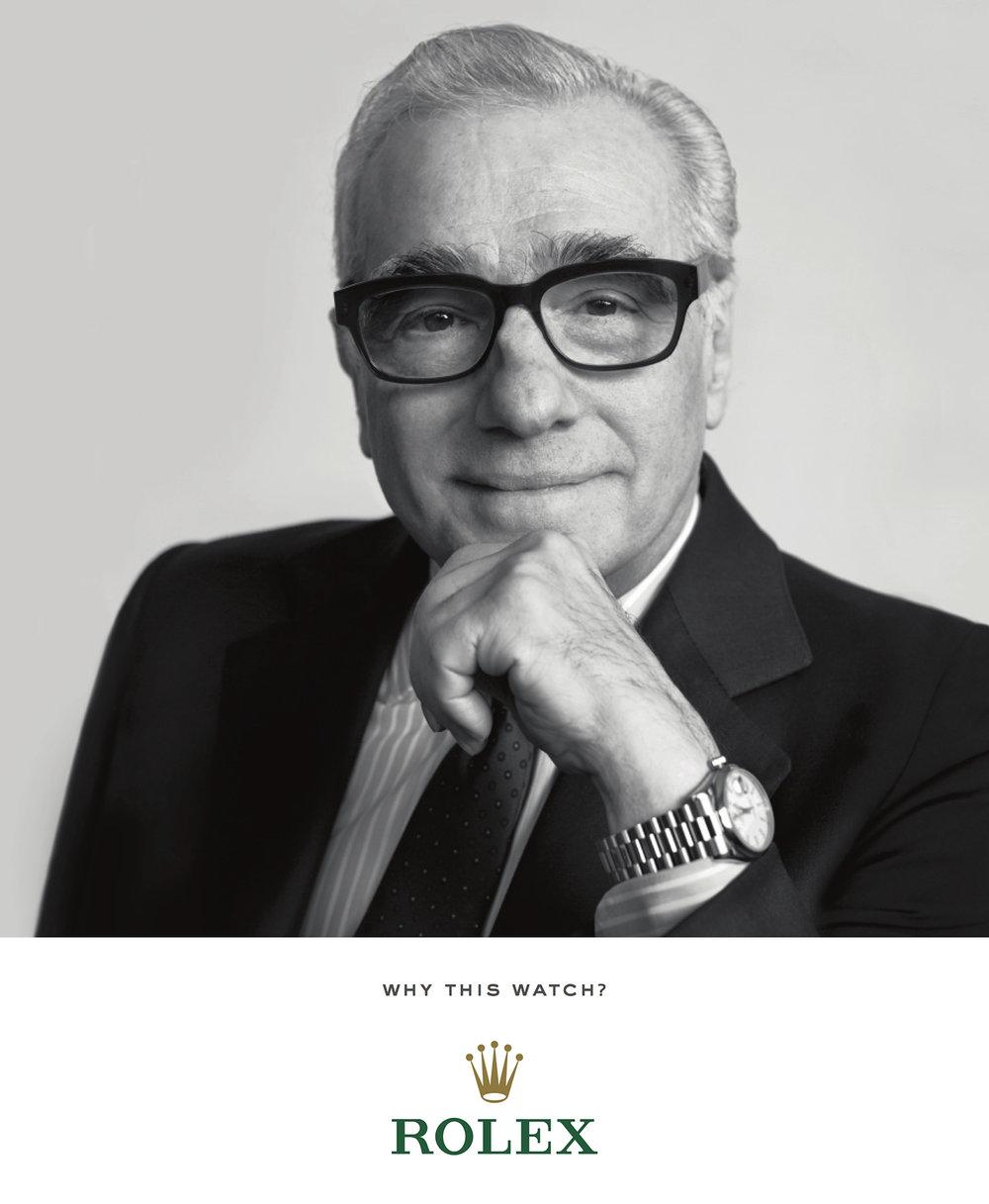 Rolex, Martin Scorsese