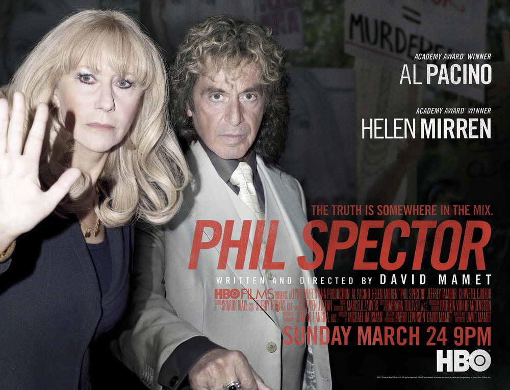 "Helen Mirren and Al Pacino, HBO ""Phil Spector"""
