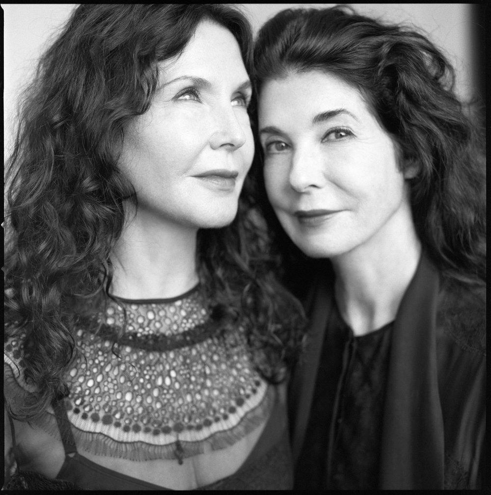 Katia and Marielle Labèque, Le Monde M Magazine, Paris, 2017
