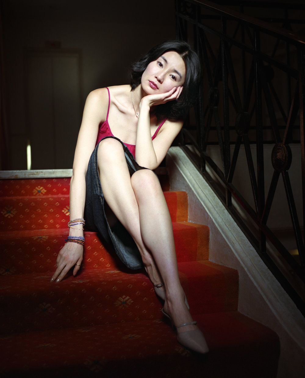 Maggie Cheung, Cannes, France, 2000