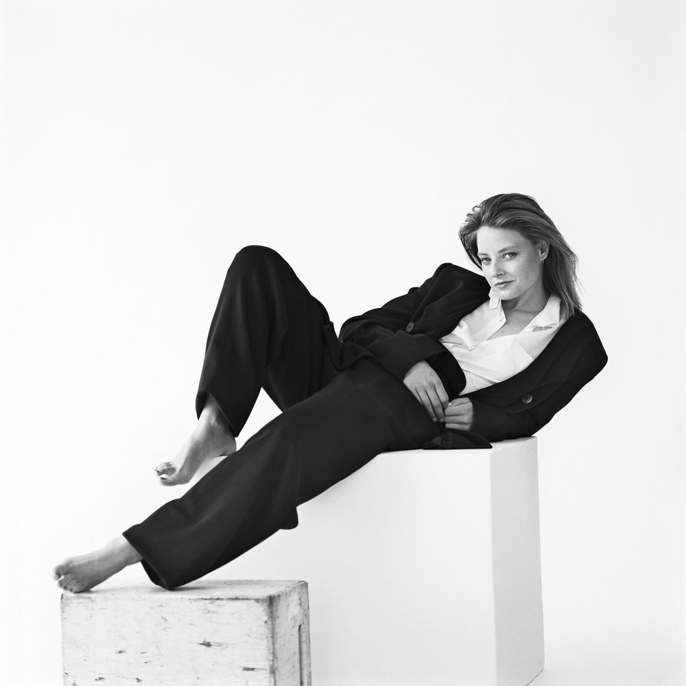 Jodie Foster, Los Angeles, CA, 1989