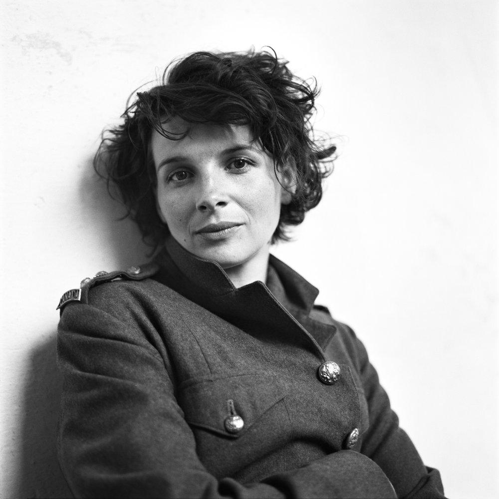 """Juliette Binoche, """"The English Patient"""", Sant'Anna in Camprena, Pienza, Tuscany, Italy, 1995"""