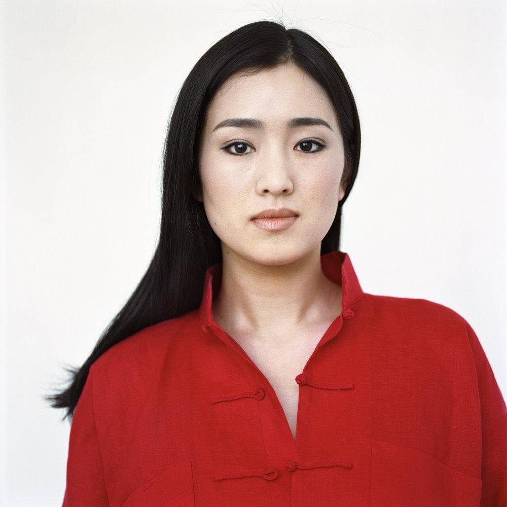 Gong Li, Paris, France, 1997