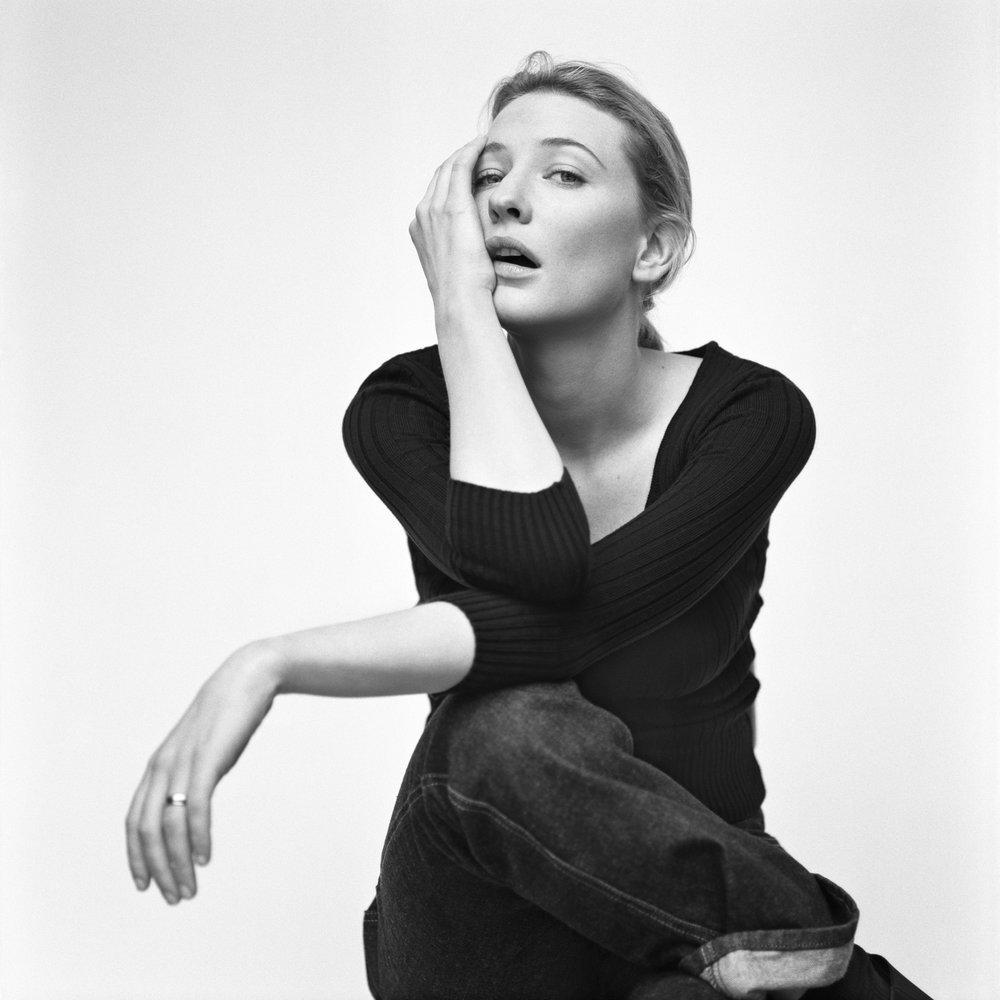 Cate Blanchett, London, UK, 1999