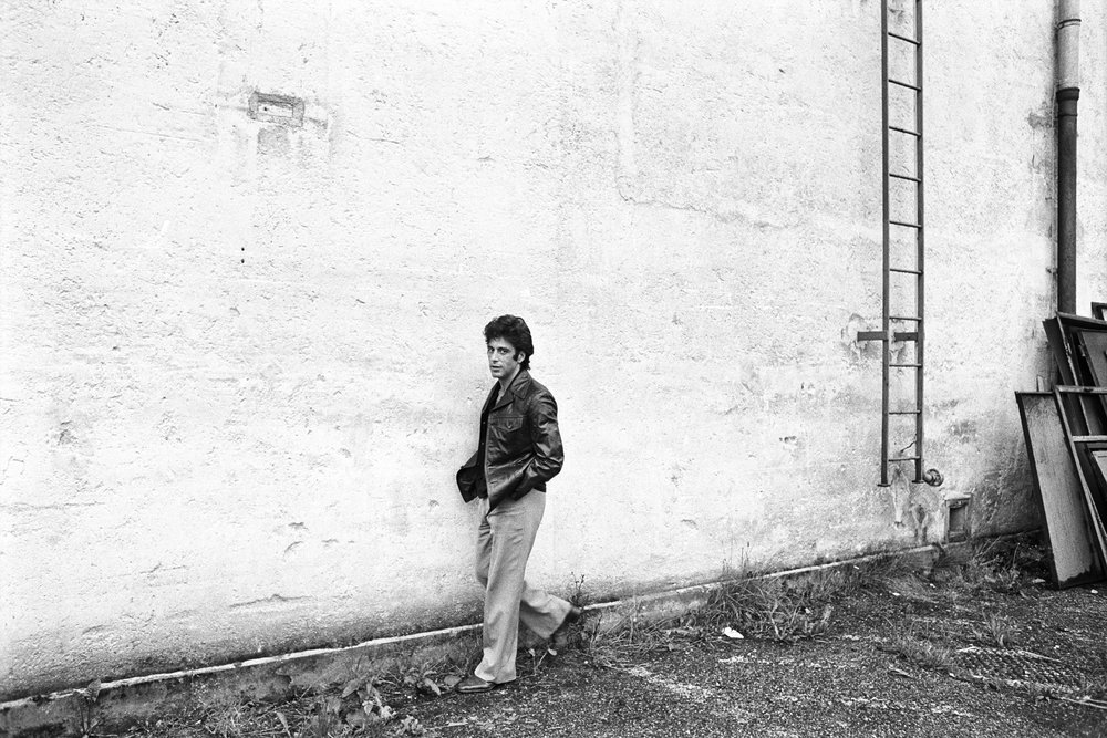 Al Pacino, Munich, Germany, 1977