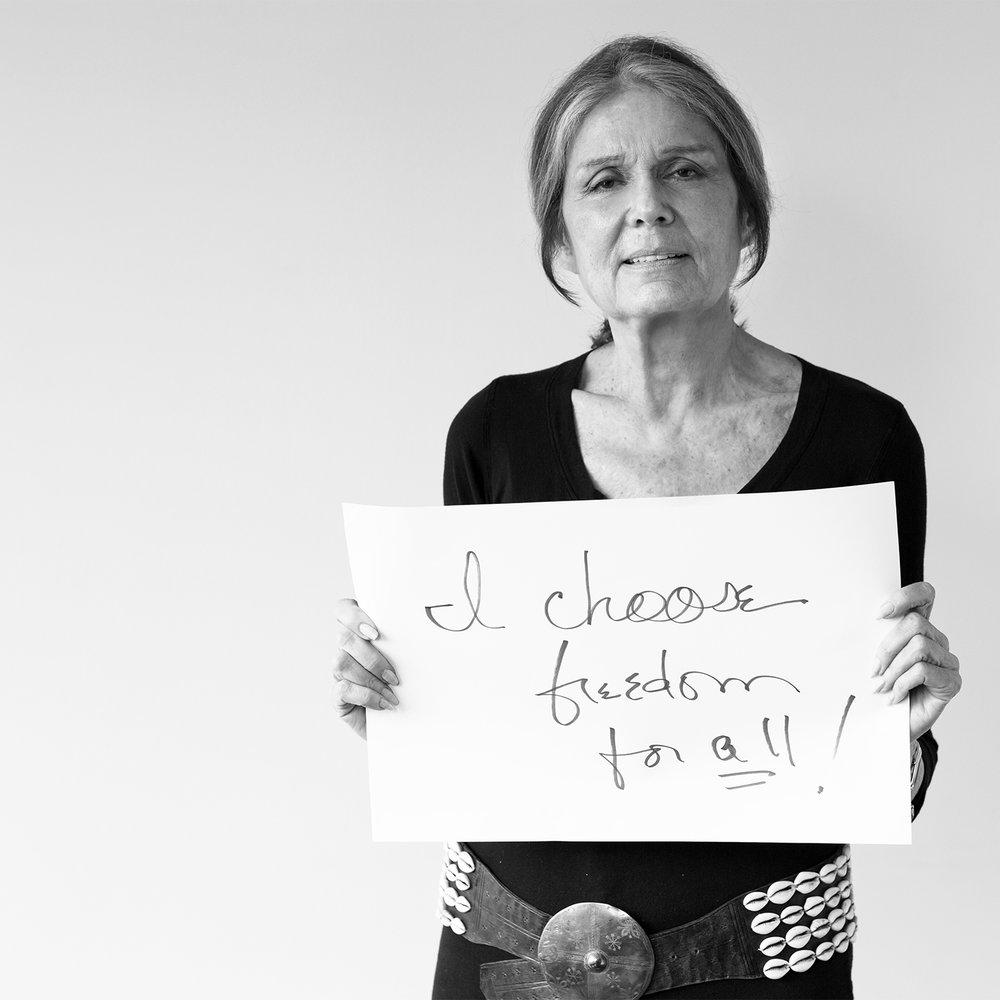 Gloria Steinem, New York