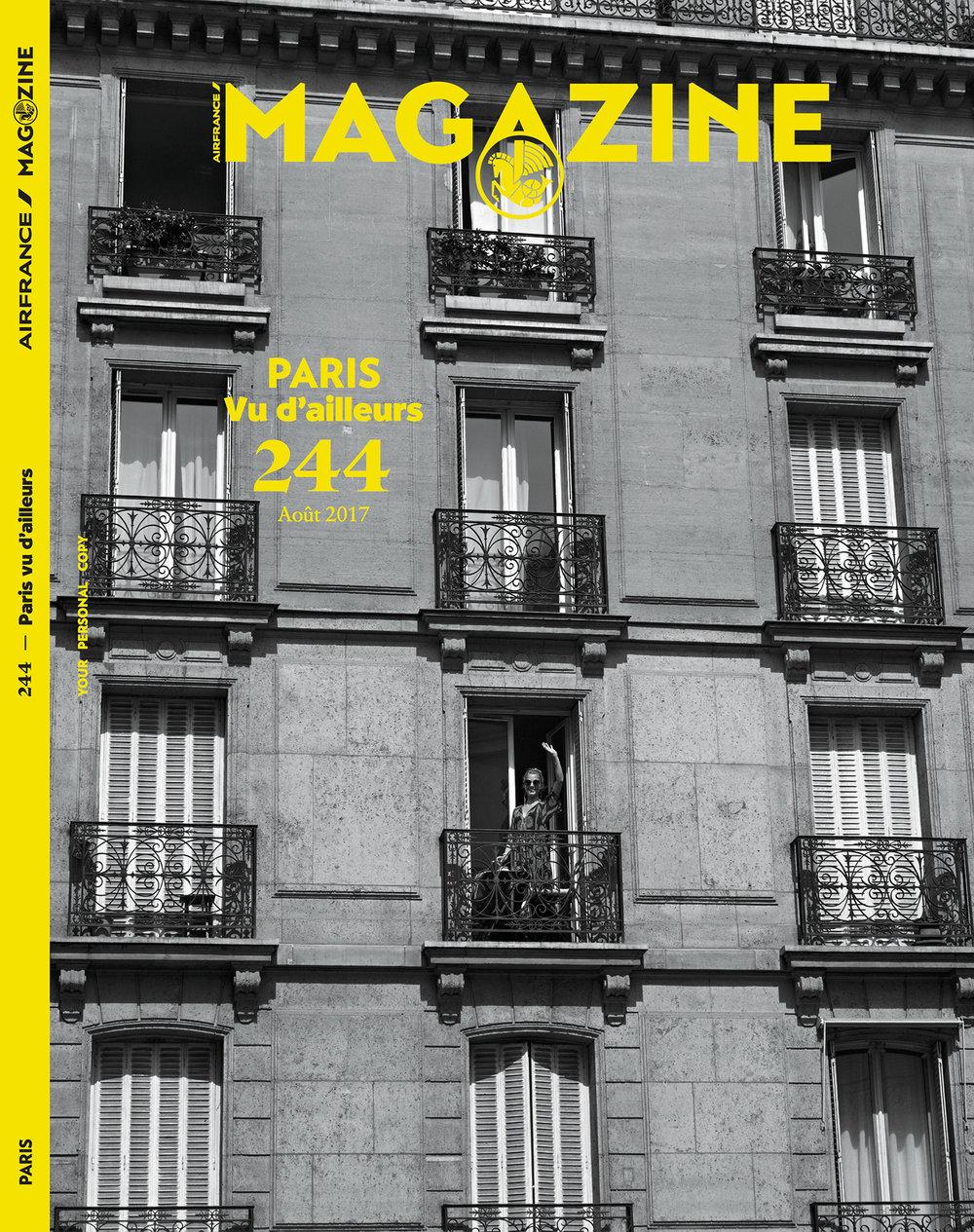 Air France Magazine, August 2017