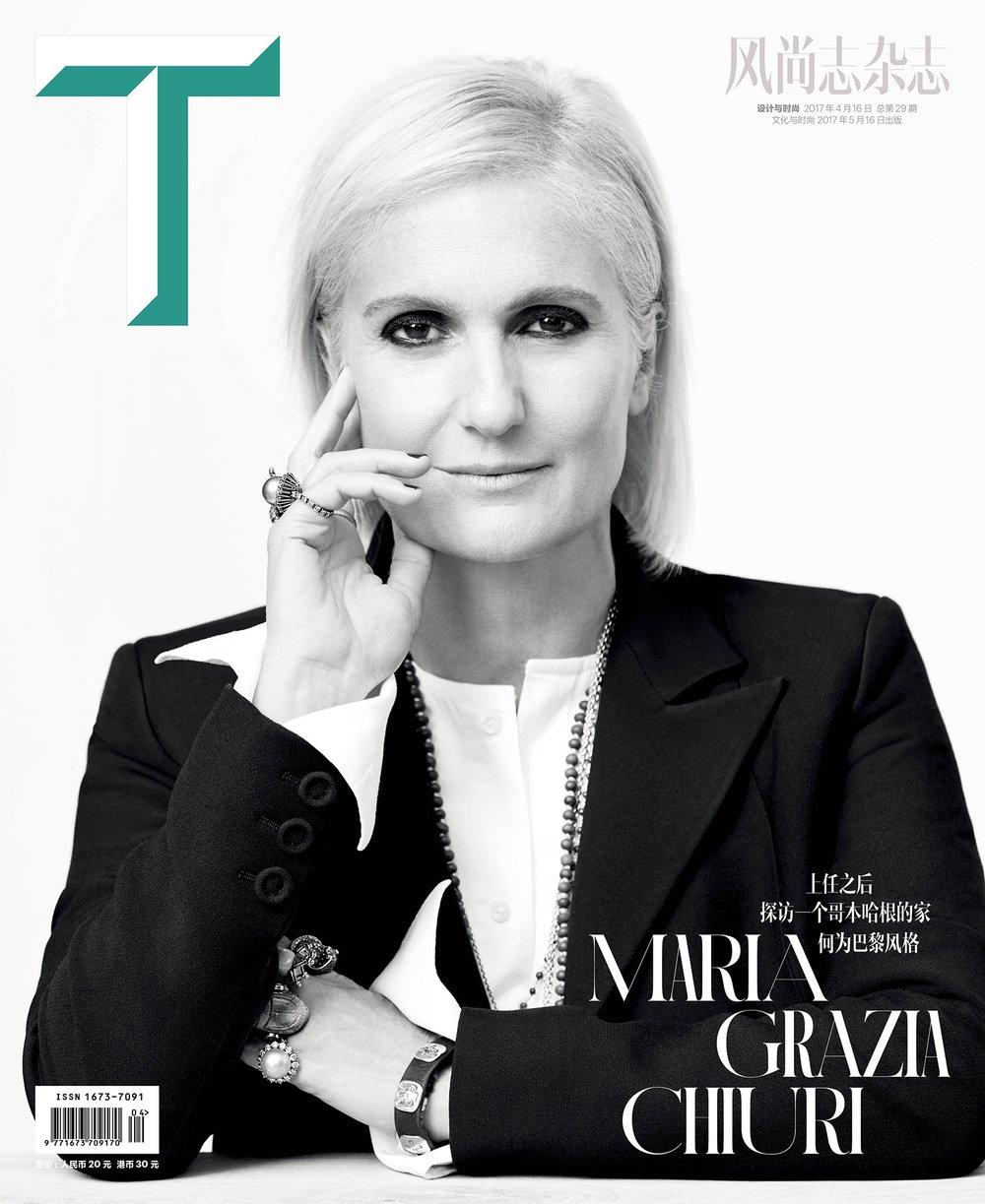 Maria Grazia Chiuri, Dior, Paris