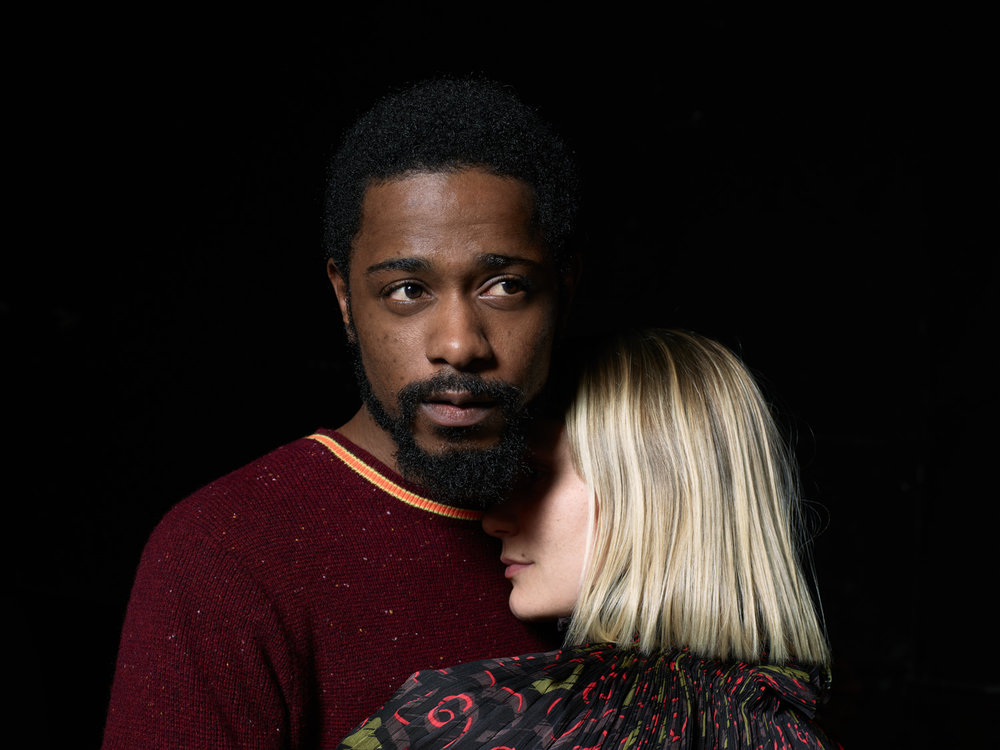 Mia Wasikowska & Lakeith Stanfield, Opening Ceremony Pre-Spring '18